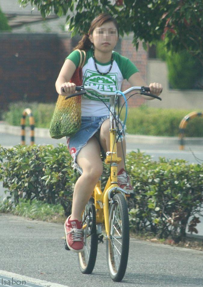 女の子は自転車乗ってるだけでエロいwwwオナニー捗るオカズ画像www 1236