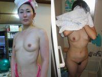 40代人妻の風呂上り全裸がエロ過ぎエロ写メ投稿wwwこの後滅茶苦茶セックスしたわwww