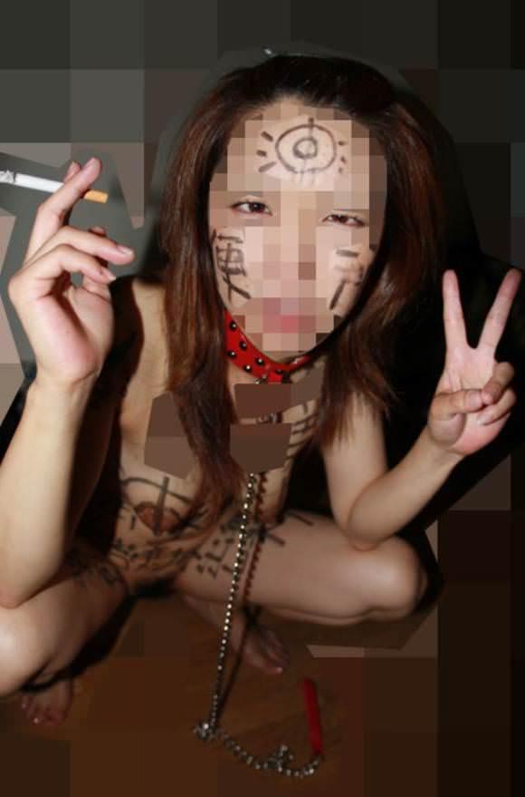 みんなのヤリマン公衆便所化してる女の身体にド変態な落書きwww 2250