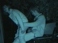 夜の公園はマン汁臭えーwww青姦してる素人カップルを赤外線カメラでガチ盗撮www