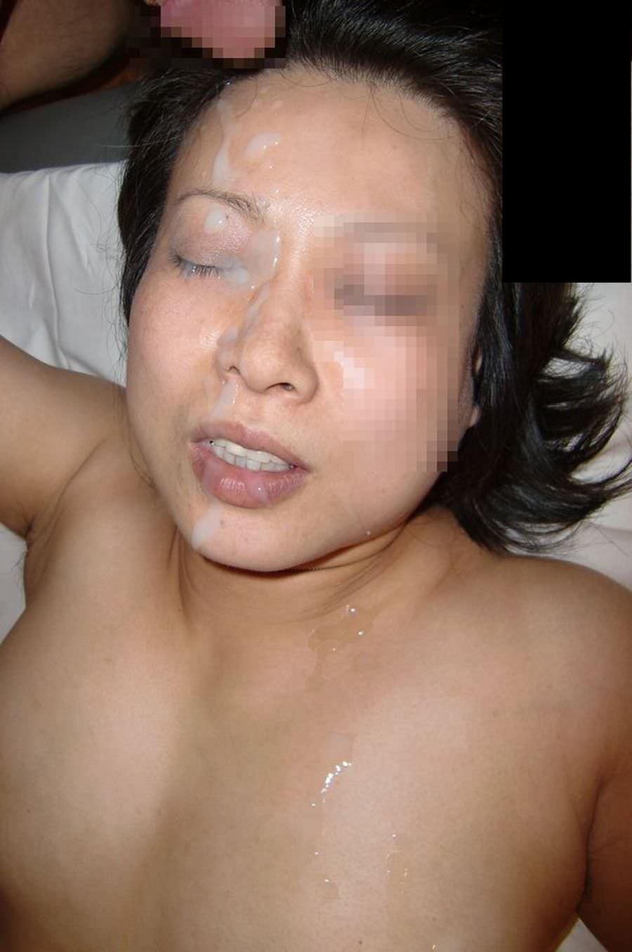 熟女に顔射www40・50代の性欲衰えない夫婦の個人撮影www 0521