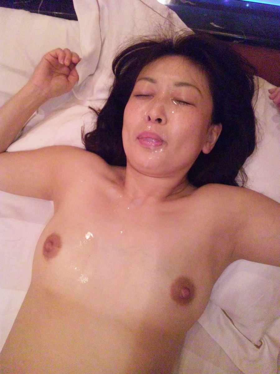 熟女に顔射www40・50代の性欲衰えない夫婦の個人撮影www 0528