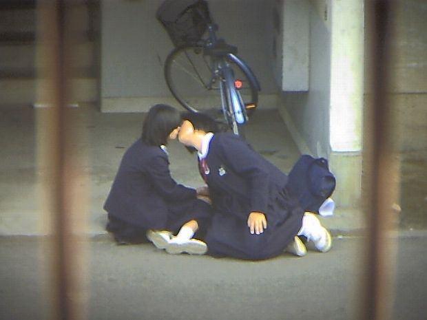 可愛い女の子が互いの身体を貪るガチレズプレイwww 15163