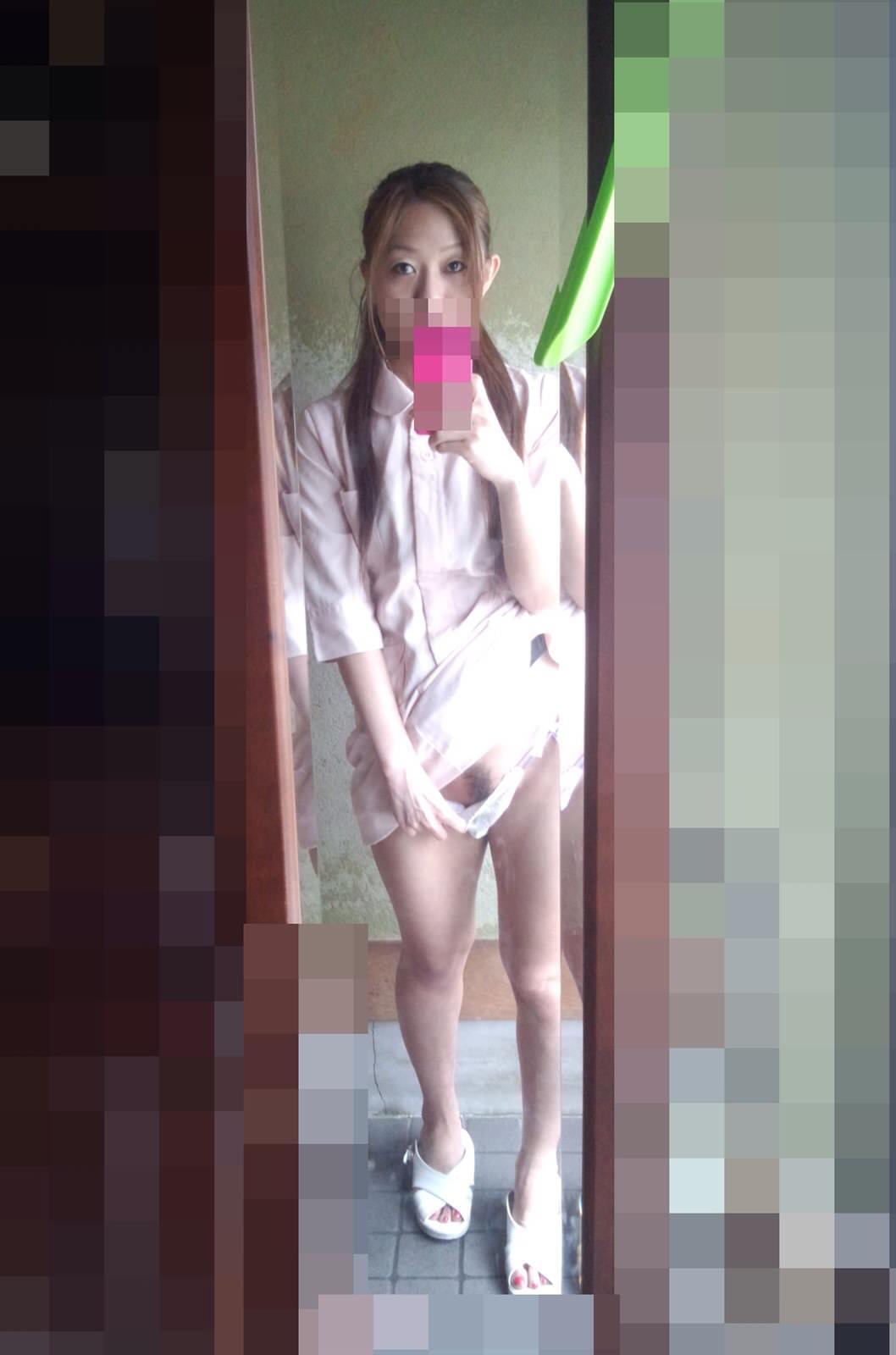 ガチ現役ナースの彼女を強制ハメ撮りしたヤバい画像がネットに流出wwwww 2104 1