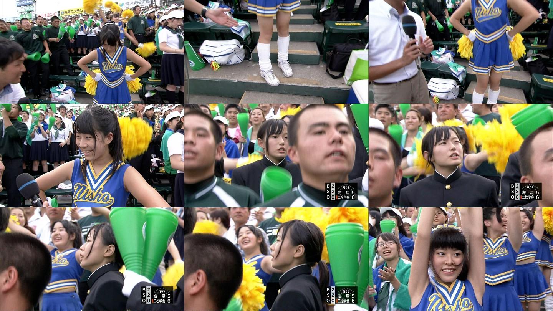 甲子園チアガール・女子高生に萌えるスレwww 160907105211