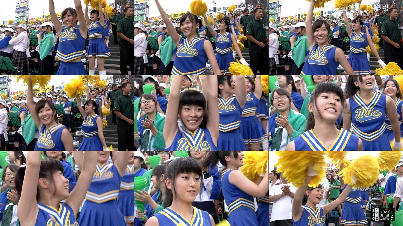 甲子園チアガール・女子高生に萌えるスレwww 160907105212