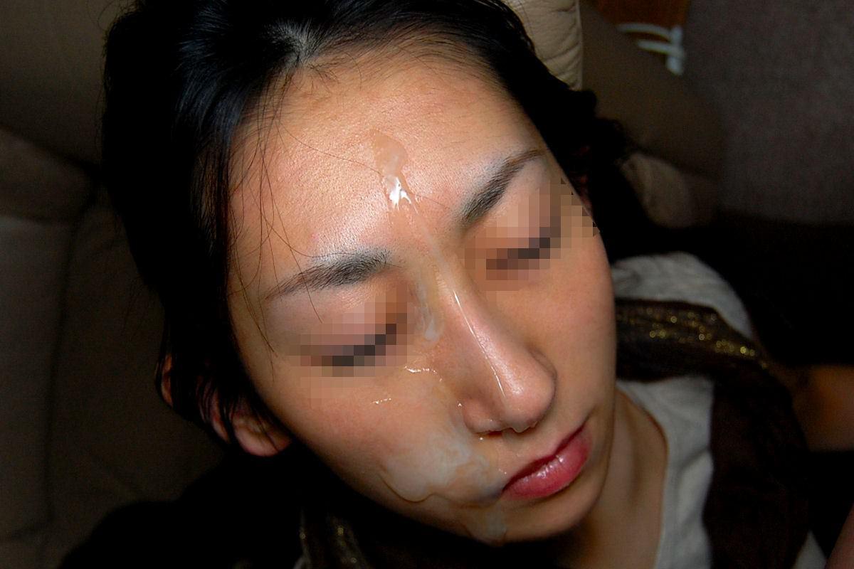 彼女や人妻の顔面に臭くて苦い精子をぶっかけwww素人娘の顔射画像wwww 2609