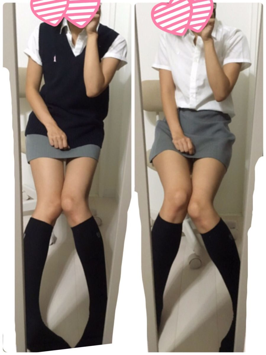 【画像】制服がタイトスカートのJKエロすぎい!!! img6410395105219