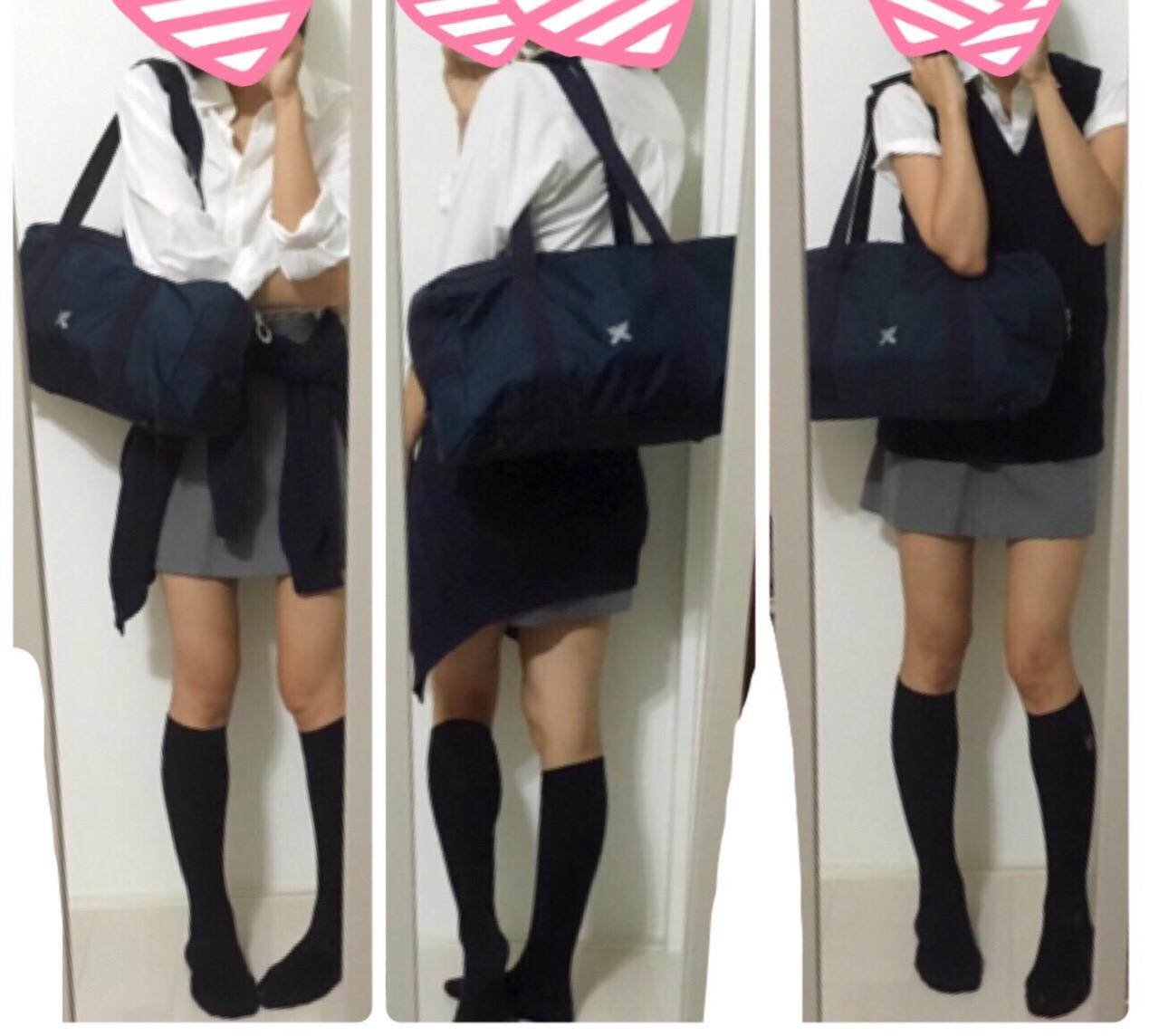 【画像】制服がタイトスカートのJKエロすぎい!!! img6620395455225