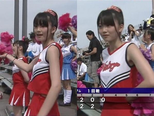 甲子園チアガール・10代小娘に萌えるスレwwwwww