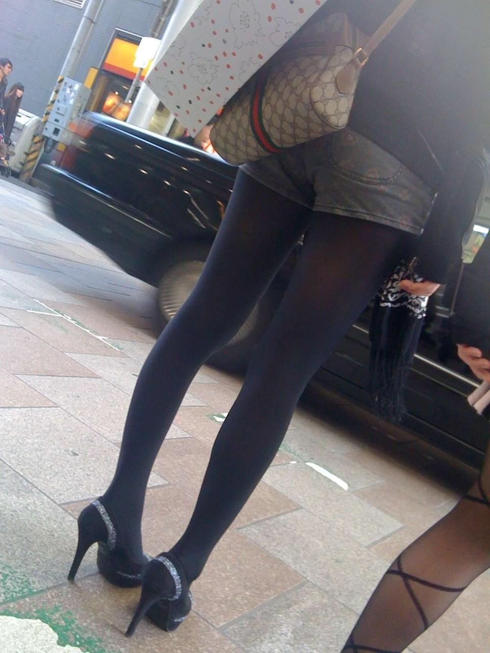 ショートパンツとかいうエロすぎる服装した女達を街撮りした結果wwwwwww KNndEdM