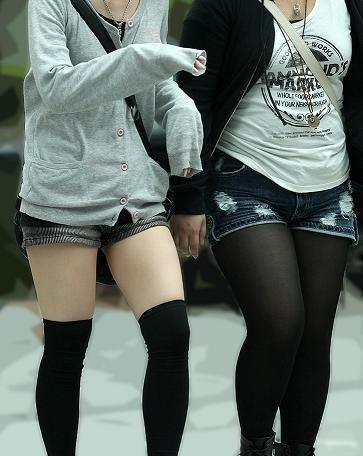 ショートパンツとかいうエロすぎる服装した女達を街撮りした結果wwwwwww ek3Yu