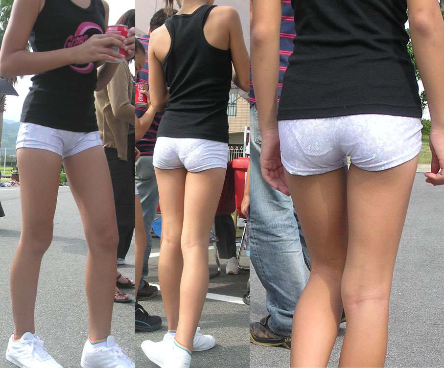 ショートパンツとかいうエロすぎる服装した女達を街撮りした結果wwwwwww iJ3MSud