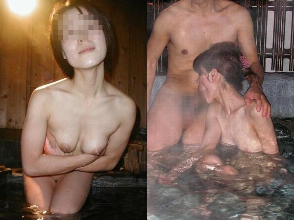 熟年夫婦が貸切露天風呂でエロい事してるエロ撮りだぁーwww絶対めちゃくちゃセックスしてるでしょwww 01 16
