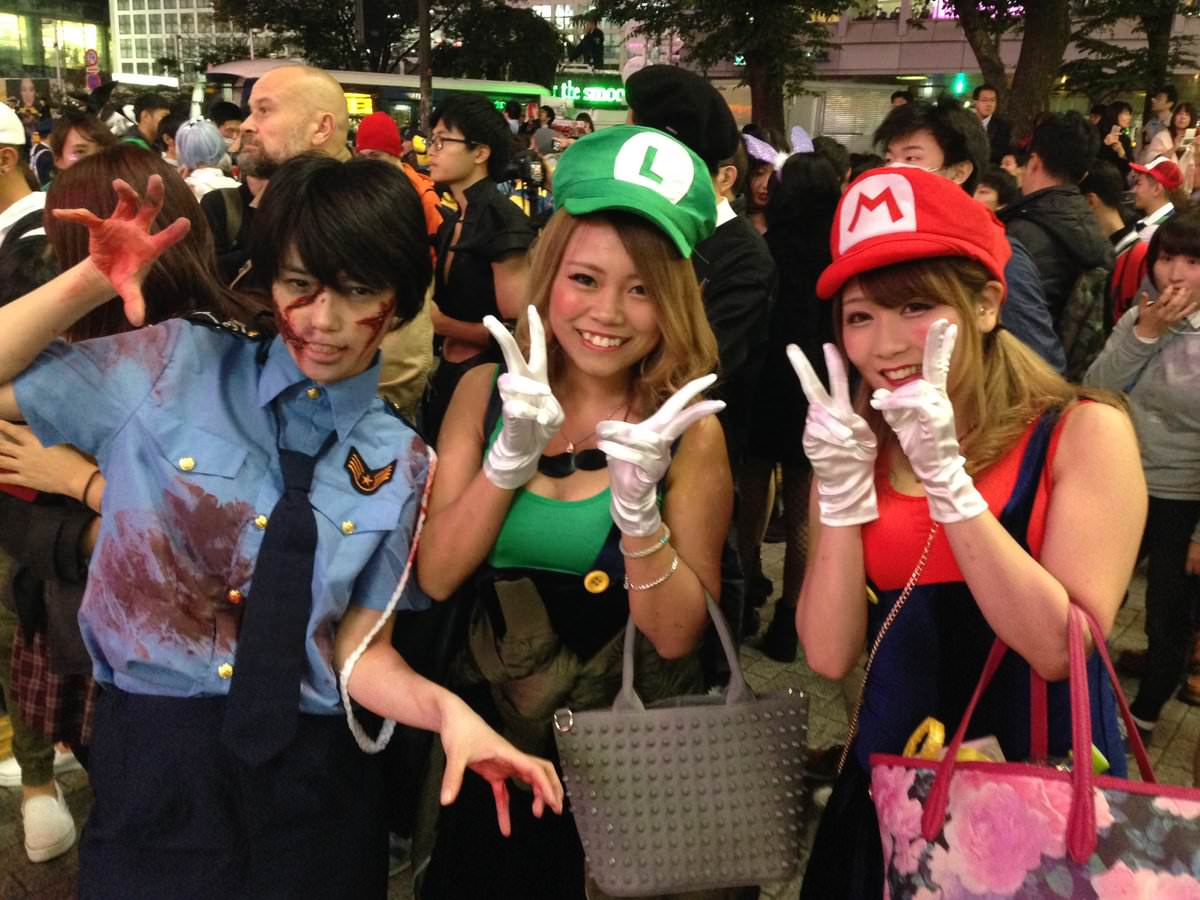 2ちゃんから集めた2016年渋谷のハロウィンコスプレ画像wwww 0158