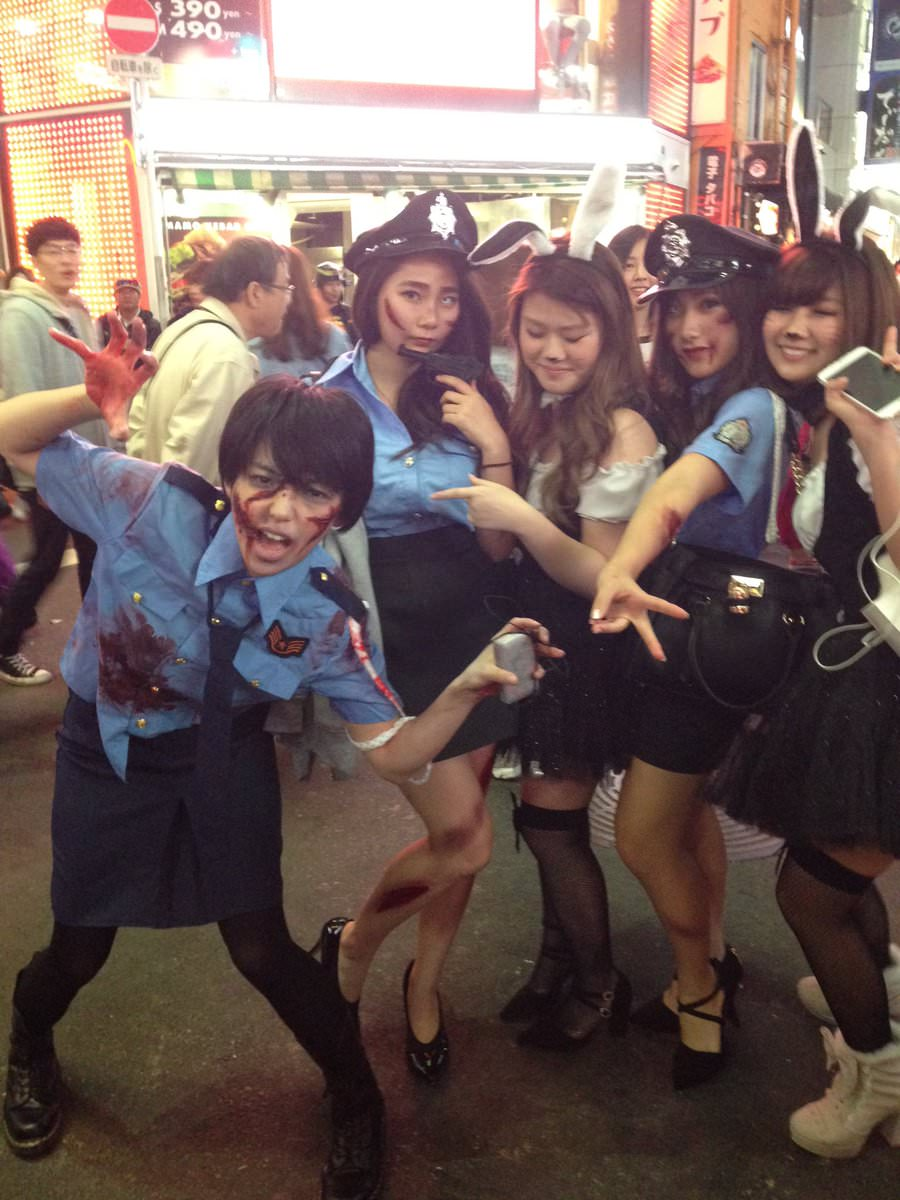 2ちゃんから集めた2016年渋谷のハロウィンコスプレ画像wwww 0160