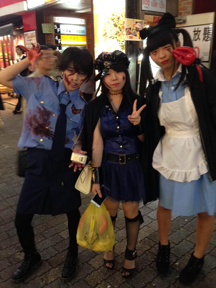 2ちゃんから集めた2016年渋谷のハロウィンコスプレ画像wwww 0161
