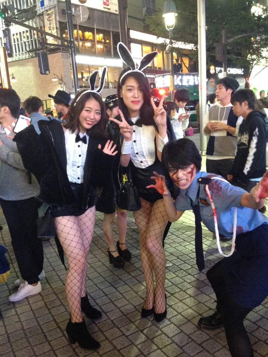 2ちゃんから集めた2016年渋谷のハロウィンコスプレ画像wwww 0162