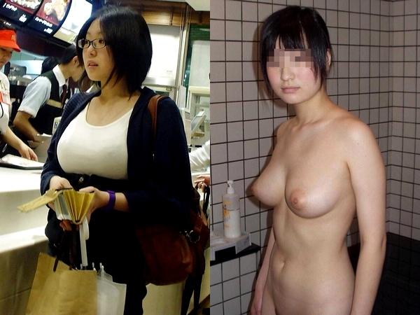 身体検査の中高生の妹がカメラの前で脱がされた画像