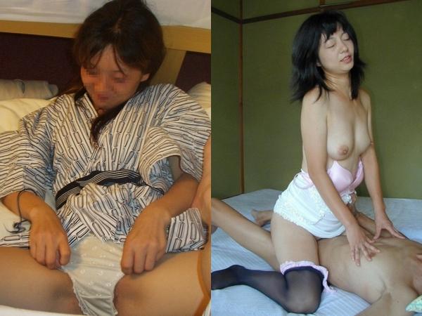 温泉旅館でいちゃつく若夫婦のハメ撮り!!!有り余る20代の体力をセックスに注ぎ込みすぎwwwwww 01 9