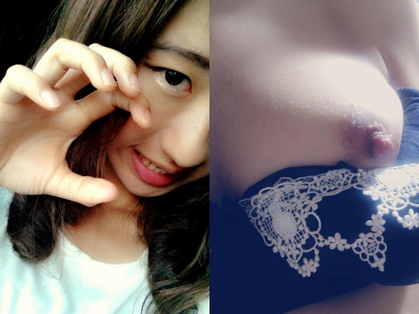名古屋の女子大学生19才ま~んがツイッターに自撮りえろ写真うpwwwwww顔出しお乳えろすぎwwwwww
