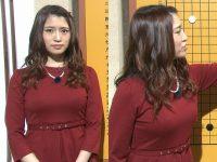 【画像】NHK囲碁のお姉さんのエロすぎる巨乳wwwwwwwwwww(元AKB戸島花)