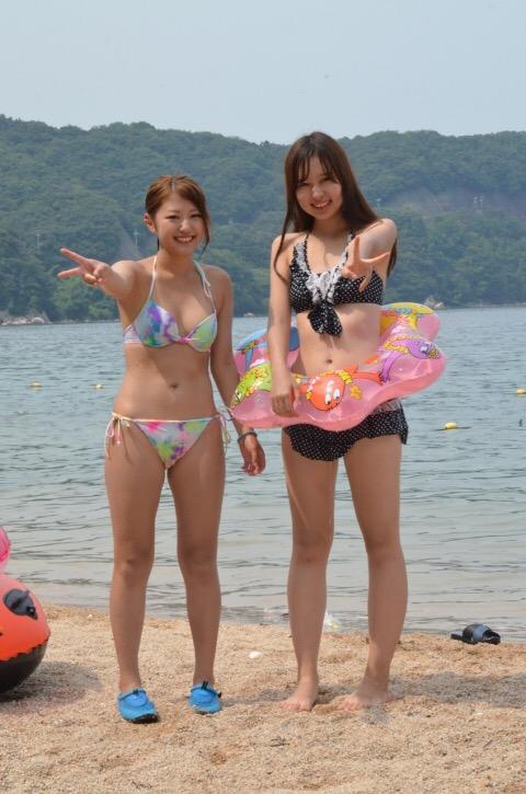 SNSに水着画像を投稿して全世界にオカズ提供してる素人娘wwwwwwww OiwNKpr
