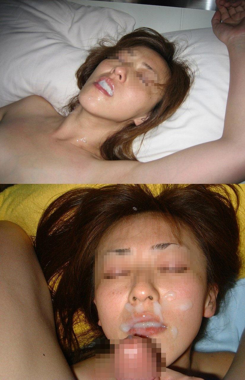 ドクドク精子を彼女のお口に大量射精!!承認欲求満たされまくりで気持ちぃwwww 1548