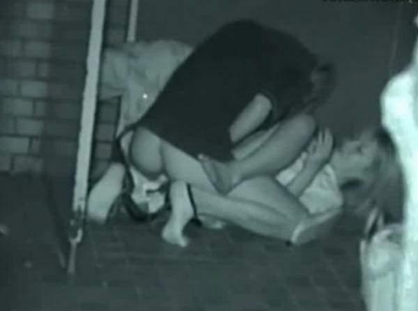 赤外線カメラで鮮明に撮られたカップル達の野外セックス!!!リア充は外でもセックスしまくりwww 0402