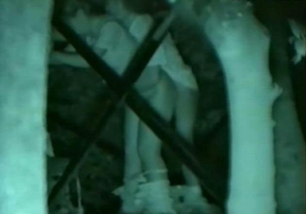 赤外線カメラで鮮明に撮られたカップル達の野外セックス!!!リア充は外でもセックスしまくりwww 0405