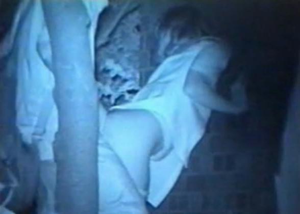 赤外線カメラで鮮明に撮られたカップル達の野外セックス!!!リア充は外でもセックスしまくりwww 0407