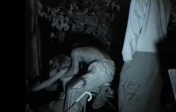 赤外線カメラで鮮明に撮られたカップル達の野外セックス!!!リア充は外でもセックスしまくりwww 0413