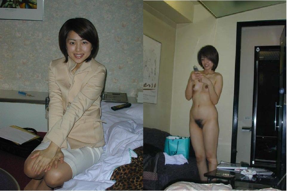 普通の素人女子がこんなに豹変するの!??普段着とセックス姿の比較画像www 1722