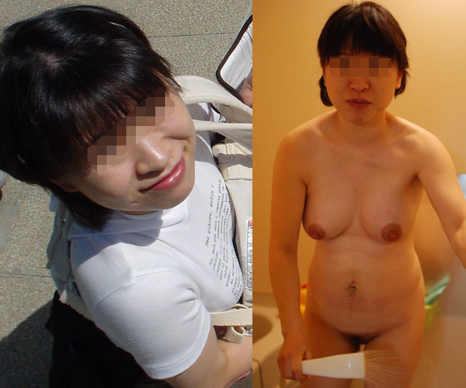 普通の素人女子がこんなに豹変するの!??普段着とセックス姿の比較画像www 1725