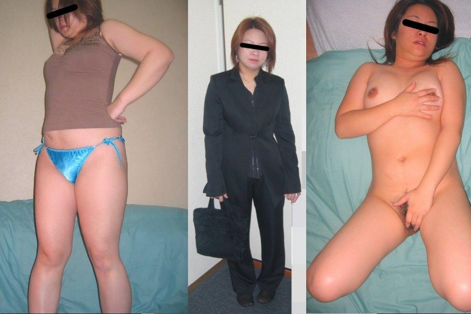 普通の素人女子がこんなに豹変するの!??普段着とセックス姿の比較画像www 1728