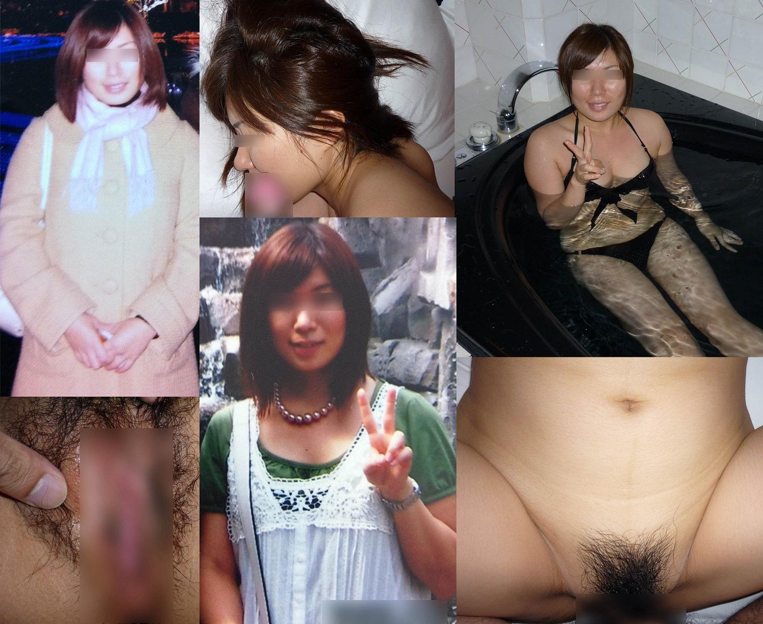普通の素人女子がこんなに豹変するの!??普段着とセックス姿の比較画像www 1733