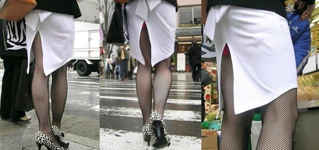 スカートめくれてるしwwwおちゃめなパンチラ街撮り画像www 0439