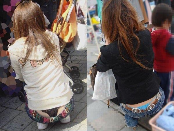 TBACK履いてる色っぽいなシロウト街撮りwwwwwwパンツ丸見え以上のモロ見えだぁーwwwwww