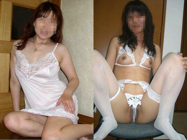 人妻が純粋娘っぽく見せるために純白の下着つけて調子コイてる件wwwwwwwwwwwwwwww