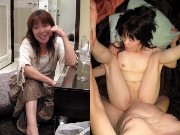 萎びた熟女とセックスって良いよね~www素人のおばさんとハメ撮りしてやったぜぇーwww 01 4