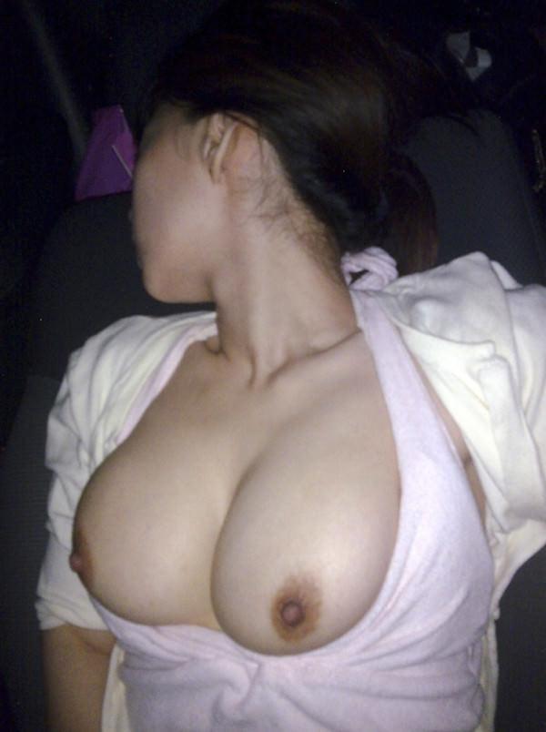 ドスケベ☆エロエロモードの素人カップルのカーセックス画像!!! 02128
