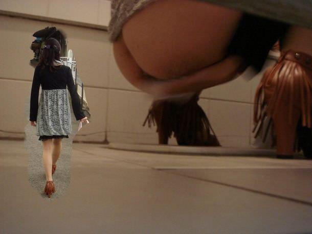トイレでオシッコする素人のお姉さん!!恥ずかしい姿をガチ盗み撮りしたエロ画像 0878