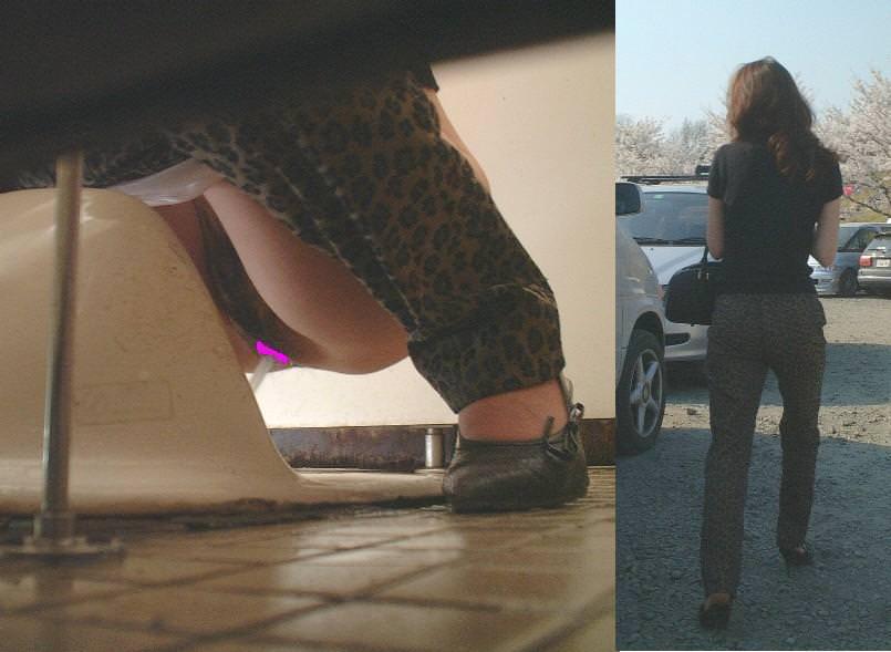 トイレでオシッコする素人のお姉さん!!恥ずかしい姿をガチ盗み撮りしたエロ画像 0880