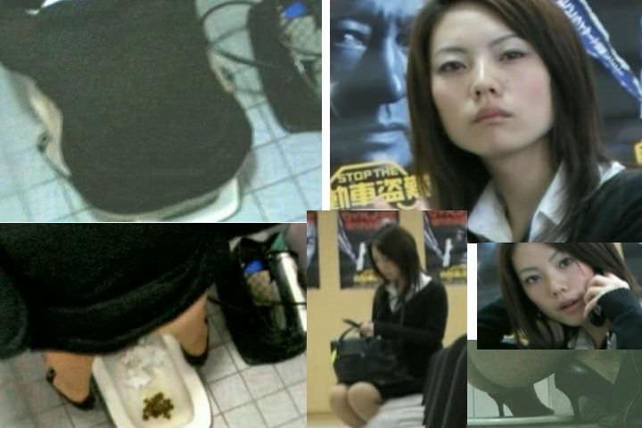 トイレでオシッコする素人のお姉さん!!恥ずかしい姿をガチ盗み撮りしたエロ画像 0889