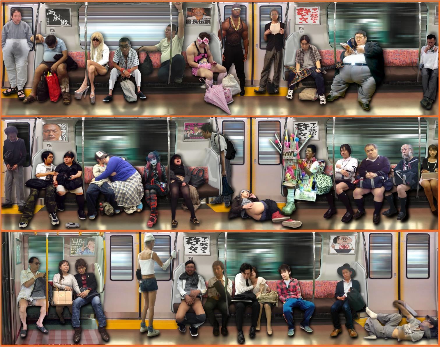 電車内で本当にあったヤバイエロ画像wwwwwwwwwwwwwww HTh5OKf