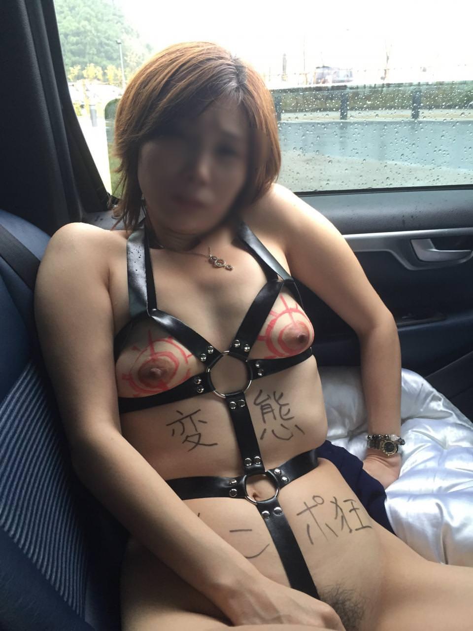 こんな美人妻だって性的欲求に負けて車で露出プレイwww興奮したままセックス突入だぁーwww 02125
