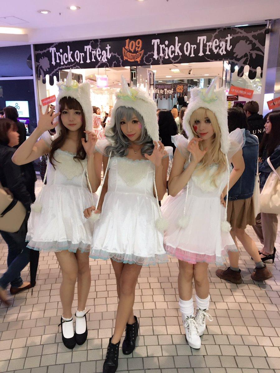 渋谷のハロウィンではしゃぐおっぱい女子の素人エロ画像 DMFfIf VwAAuM S