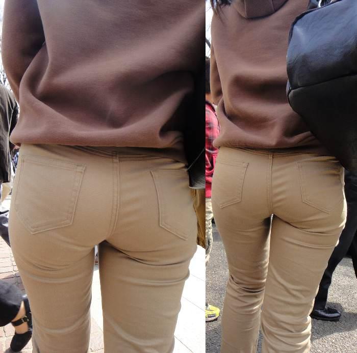 なぜ人妻の奥様はお尻ピチピチのパンツを履くのだろう。 0508