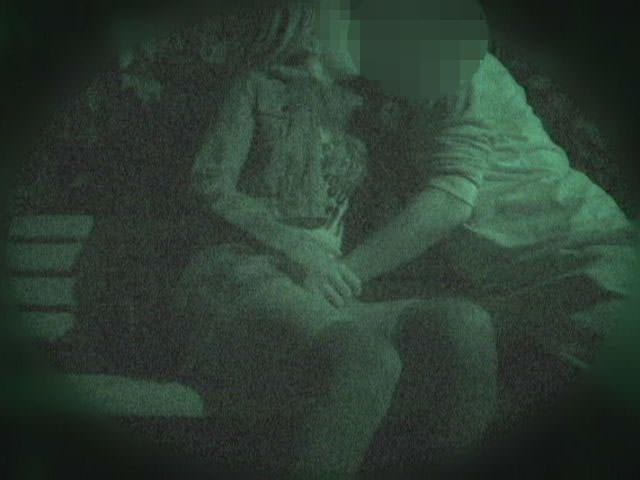 赤外線カメラでガチ盗撮!10代素人カップルが若さに任せた激しい野外セックスのエロ画像 1901