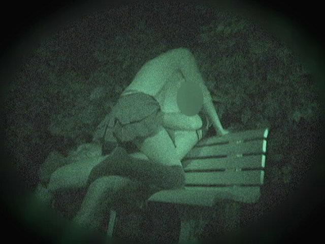 赤外線カメラでガチ盗撮!10代素人カップルが若さに任せた激しい野外セックスのエロ画像 1913